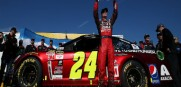 Jeff Gordon wins pole for final Daytona 500 of his career