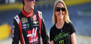 Kurt Busch and his ex girlfriend Patricia Driscoll in happier times