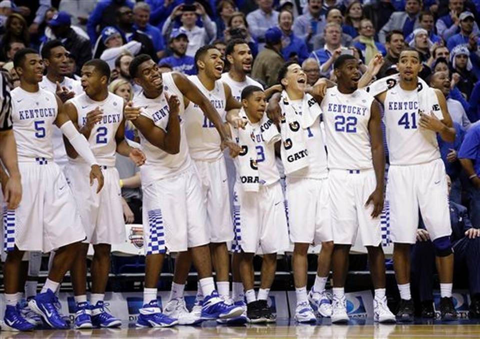 University Of Kentucky Basketball 2013 2014 On November 18  Kentucky ran