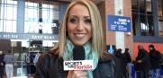 NFL Combine Day 2 Jenna Laine