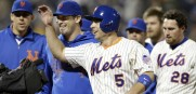 Matt Harvey, David Wright, Daniel Murphy