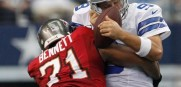 Michael Bennett as a Tampa Bay Buccaneer