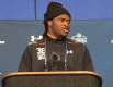 Breshad Perriman at the NFL Scouting Combine