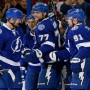 Lightning Down Red Wings, Gets First Postseason Win
