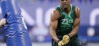 Former Nebraska defensive end Randy Gregory tested positive for marijuana at the NFL Scouting Combine
