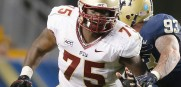 Cameron Erving, OT and Center from  Florida State drafted by the Cleveland Browns