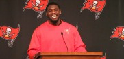 George Johnson Bucs press conference