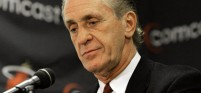 Pat Riley and the Miami Heat could keep their pick in the NBA Draft with a loss in the final game of the season.