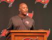 Bucs head coach Lovie Smith gives his pre-draft press conference