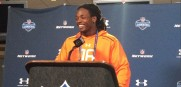 NFL draft prospect Melvin Gordon visited the Jaguars and the Dolphins