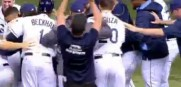Rene Rivera Delivers Rays' First Walk-Off Win Of Season