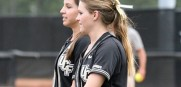 Mackenzie Audas and Shelby Turnier started playing together in 2013 and have form Dominant 1-2 Punch for UCF. (Photo Courtesy of Jim Hartsing)