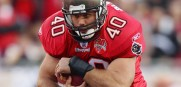 Mike Alstott will announce the Bucs' second-round draft pick