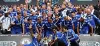 Chelsea took home the hardware after winning the 2014-2015 EPL Championship