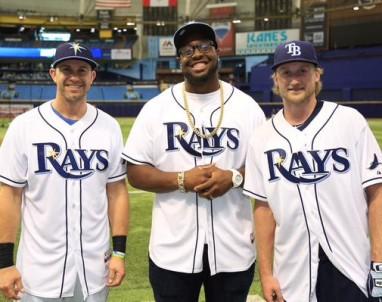 Tampa Bay Lightning visit Tampa Bay Rays