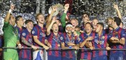 FC Barcelona wins the UEFA Champion League Final