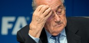 FIFA president Sepp Blatter is gone after being re=elected to 5th term on Friday