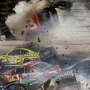Explosive Crash Caps Coca Cola 400