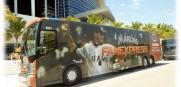 marlins fan bus